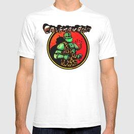 CavemanRobot Classic Chainbreak Logo T-shirt