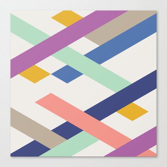 Overlay Canvas Print