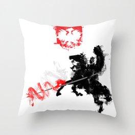 Polish Hussar Throw Pillow