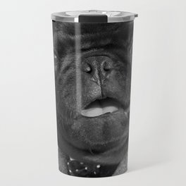 Sir Winston Pug Churchill Travel Mug