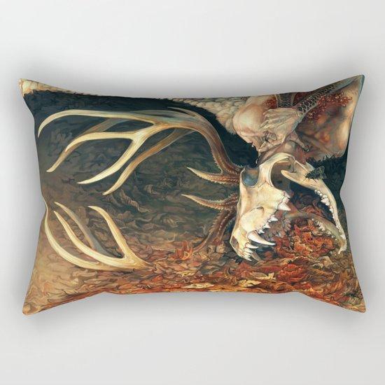 Denialism Rectangular Pillow