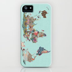Louis Armstrong Told Us So (teal) iPhone (5, 5s) Slim Case