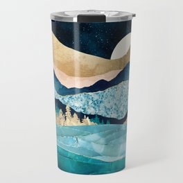 Midnight Ocean Travel Mug