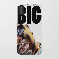 notorious big iPhone & iPod Cases featuring Notorious BIG by Jamaal lamaaj studio.