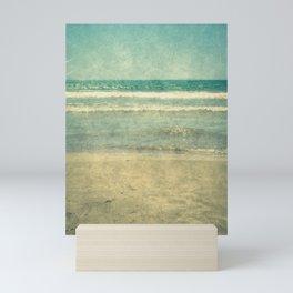 Seascape Vertical Vintage I Mini Art Print
