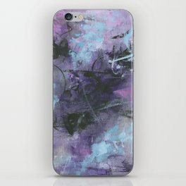 Storms and Stars iPhone Skin