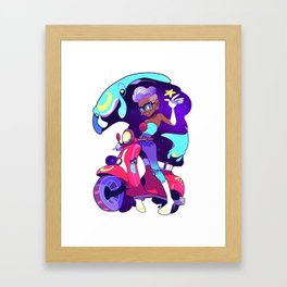 Star Bringer Framed Art Print