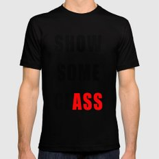 Show Some clASS MEDIUM Mens Fitted Tee Black