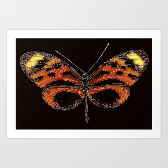 Untitled Butterfly 2 Art Print