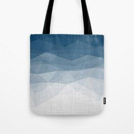 Imperial Topaz - Geometric Triangles Minimalism Tote Bag