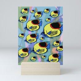 Sunfish & Seaweed Mini Art Print