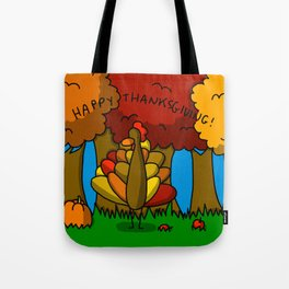 Happy Thanksgiving! Tote Bag