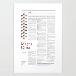 Magna Carta Art Print
