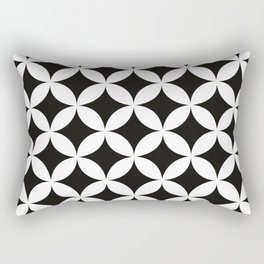 Shippo (cloisonne)Geometric Pattern Rectangular Pillow