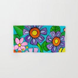 Springtime Series #5 Singing Bird Hand & Bath Towel