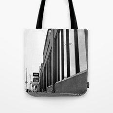 Sidewalk scene Tote Bag