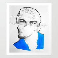 leonardo Art Prints featuring Leonardo by Eva BF