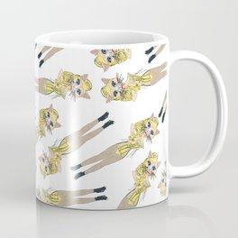 Kitty Blonde Ambition Coffee Mug