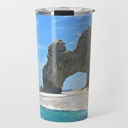 Los Arcos, Lands End Arch, Mexico Travel Mug