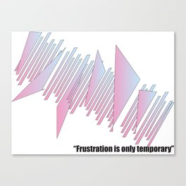 Frustration Canvas Print