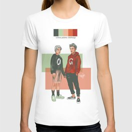 SKAM - Evak colour palette challenge T-shirt