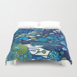 WATER YOU TALKING ABOUT? Duvet Cover