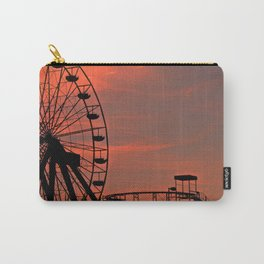 Sundown in Fun Town Carry-All Pouch