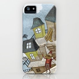 The house of secrets iPhone Case