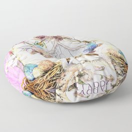 Easter Basket Floor Pillow
