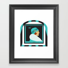 Art Deco Magazine Framed Art Print