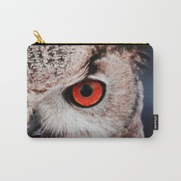 Eyes of owl Carry-All Pouch