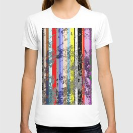 Smearing The Lines Of Colour T-shirt