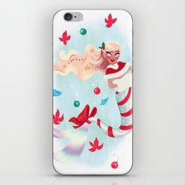 Holiday Mermaid iPhone Skin