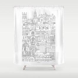 Cork, Ireland Shower Curtain