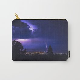 California Lightning Storm Carry-All Pouch