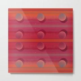 """Pastel Planets Fantasy Sci-fi (Pink Powder)"" Metal Print"