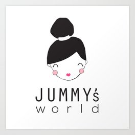 Jummy's World Art Print