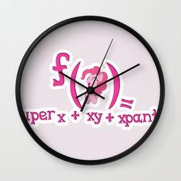 f(pinkiepie) Wall Clock