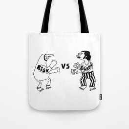 Risk vs Reward Tote Bag