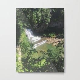 Cummins Falls Waterfall Metal Print