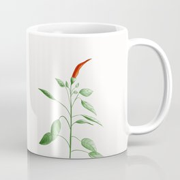 Little Hot Chili Pepper Plant Coffee Mug