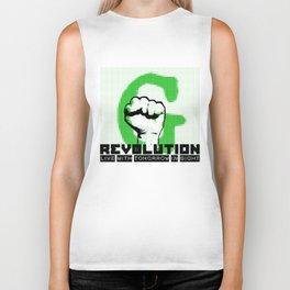 G (green) REVOLUTION Biker Tank