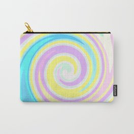 Bright abstract spiral Carry-All Pouch