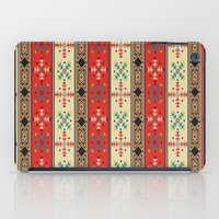blanket iPad Cases featuring Sioux Blanket by Robin Curtiss
