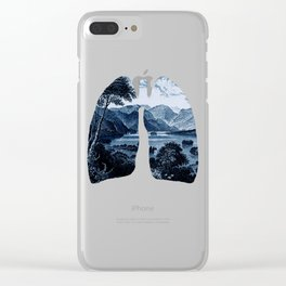 fresh jungle Clear iPhone Case