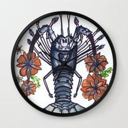 Bug Blossom Wall Clock