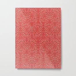 RED PATRON Metal Print