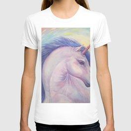 Purple Unicorn - Art by Lana Chromium T-shirt