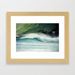 Ka'ena Point - Hawaii Seascapes #7 Framed Art Print