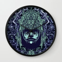 Boy with Labirinth Horns Wall Clock